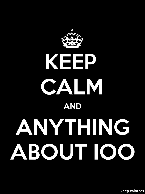 KEEP CALM AND ANYTHING ABOUT IOO - white/black - Default (600x800)