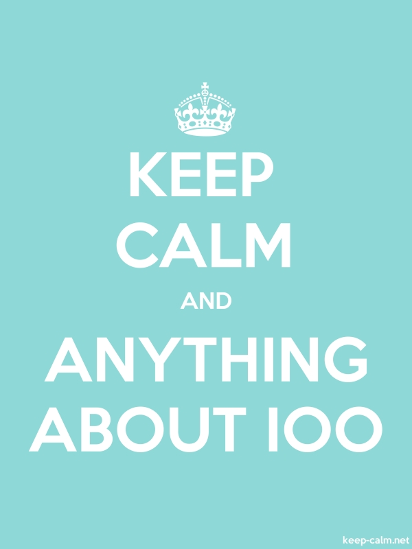 KEEP CALM AND ANYTHING ABOUT IOO - white/lightblue - Default (600x800)