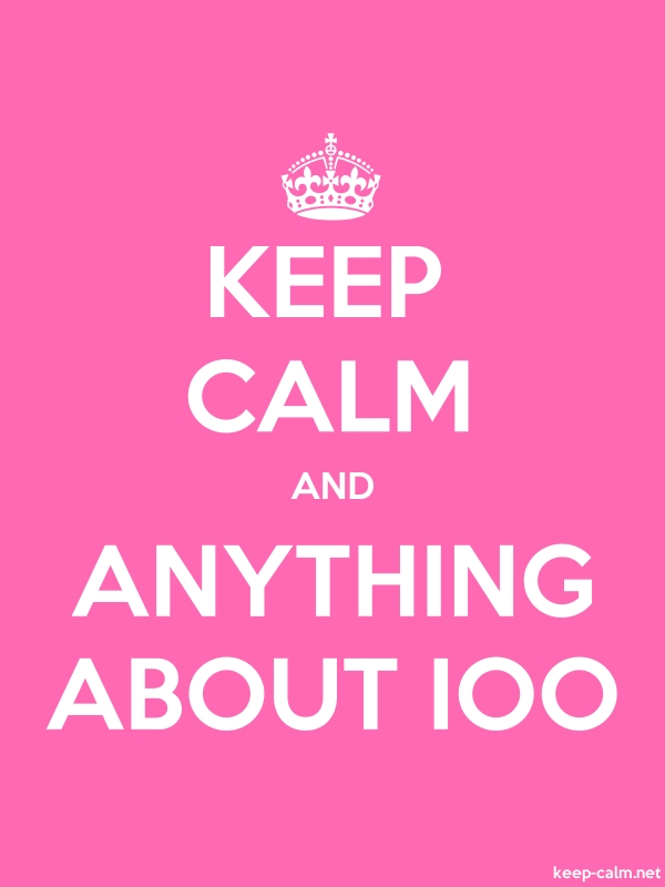 KEEP CALM AND ANYTHING ABOUT IOO - white/pink - Default (600x800)