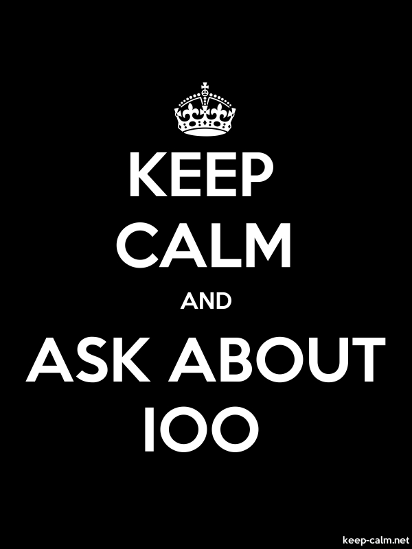 KEEP CALM AND ASK ABOUT IOO - white/black - Default (600x800)