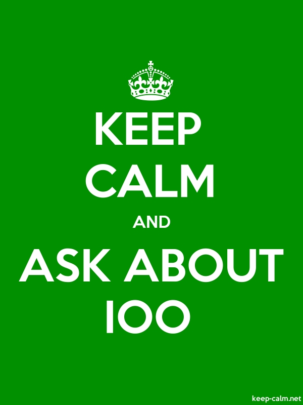 KEEP CALM AND ASK ABOUT IOO - white/green - Default (600x800)