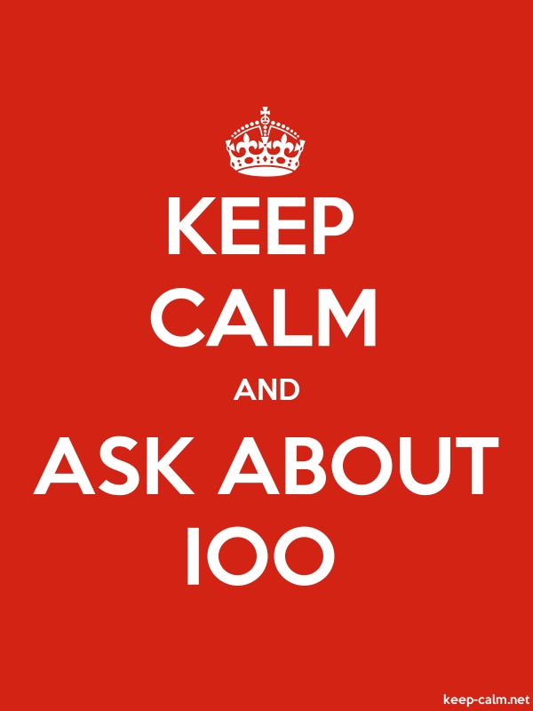 KEEP CALM AND ASK ABOUT IOO - white/red - Default (600x800)