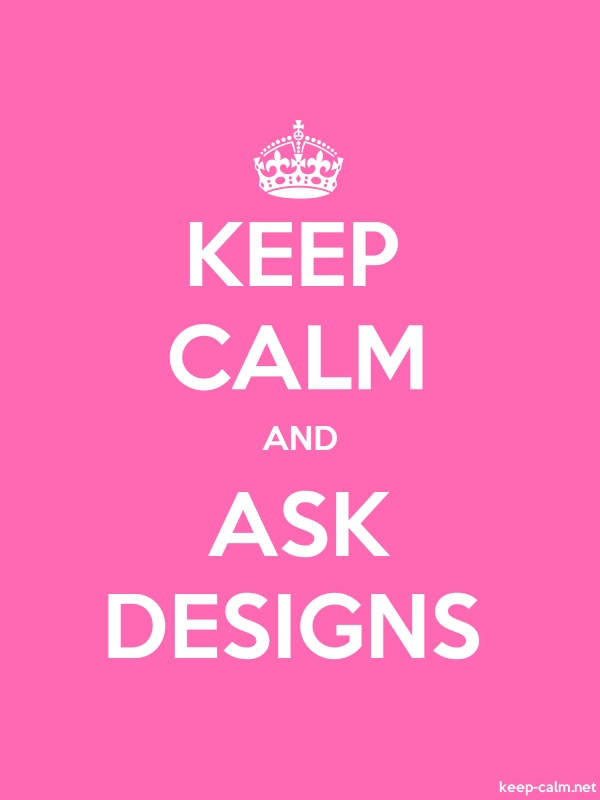 KEEP CALM AND ASK DESIGNS - white/pink - Default (600x800)