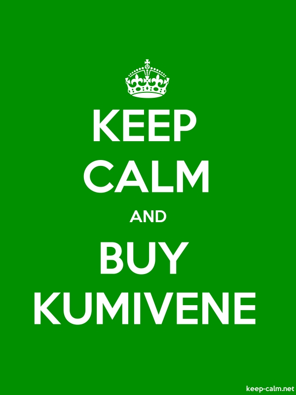 KEEP CALM AND BUY KUMIVENE - white/green - Default (600x800)