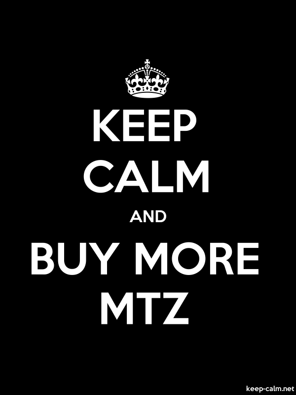 KEEP CALM AND BUY MORE MTZ - white/black - Default (600x800)