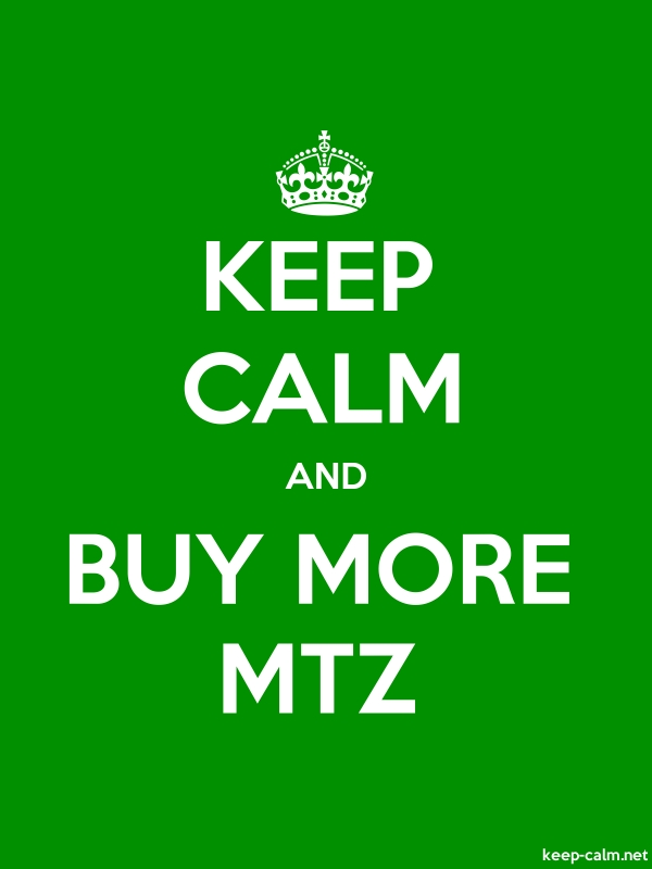 KEEP CALM AND BUY MORE MTZ - white/green - Default (600x800)