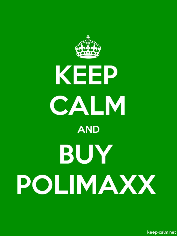KEEP CALM AND BUY POLIMAXX - white/green - Default (600x800)