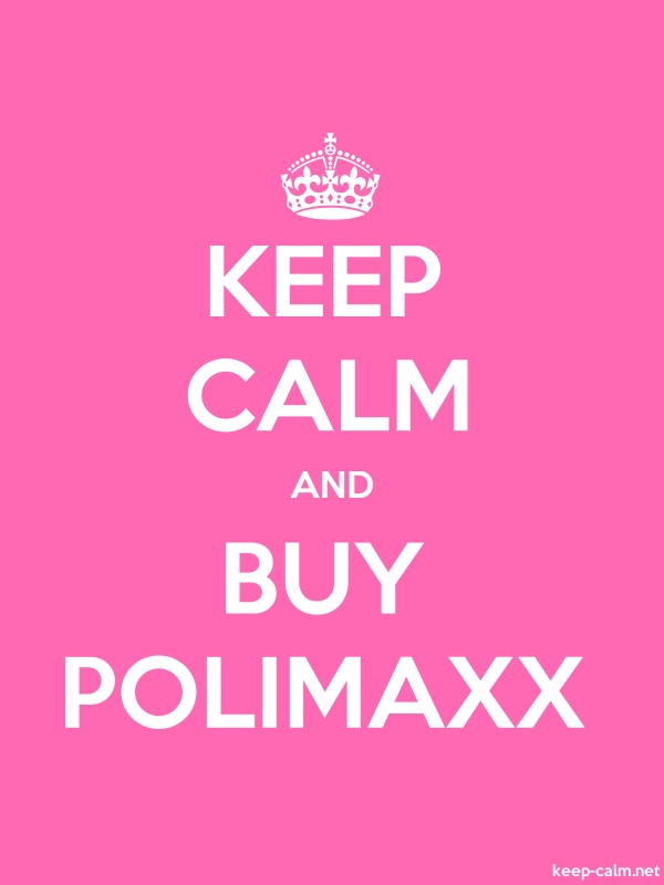 KEEP CALM AND BUY POLIMAXX - white/pink - Default (600x800)