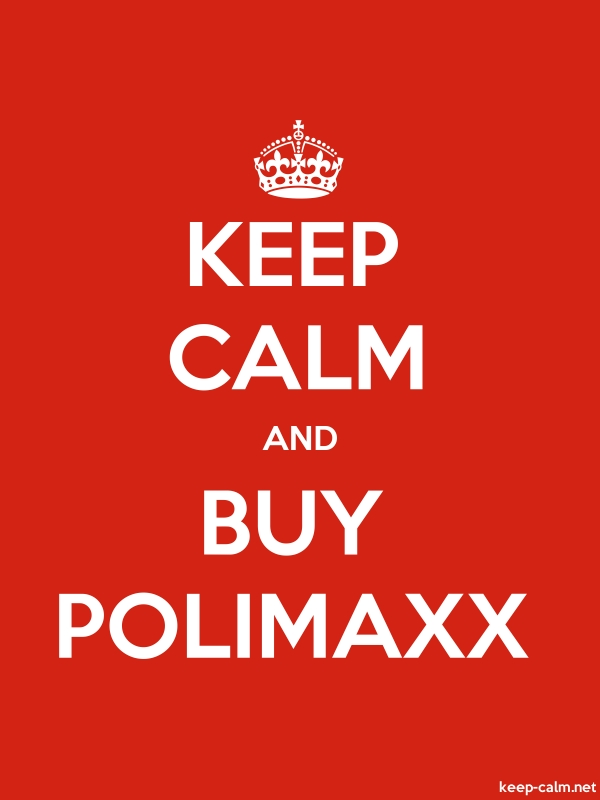 KEEP CALM AND BUY POLIMAXX - white/red - Default (600x800)