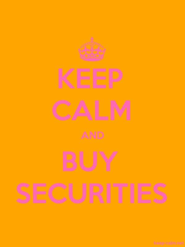 KEEP CALM AND BUY SECURITIES - pink/orange - Default (600x800)