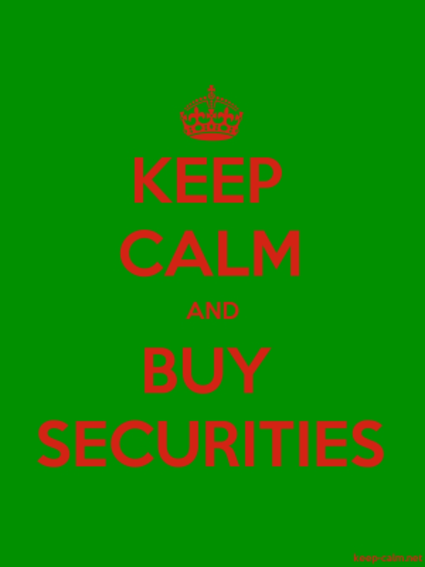 KEEP CALM AND BUY SECURITIES - red/green - Default (600x800)
