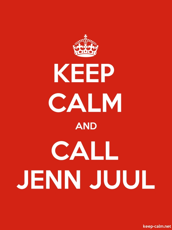 KEEP CALM AND CALL JENN JUUL - white/red - Default (600x800)