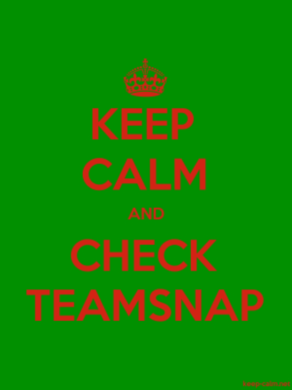 KEEP CALM AND CHECK TEAMSNAP - red/green - Default (600x800)
