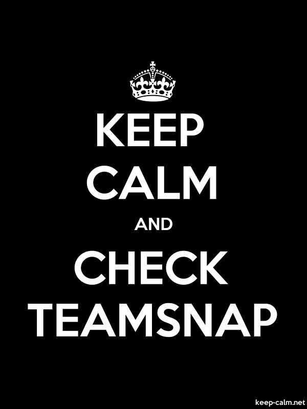 KEEP CALM AND CHECK TEAMSNAP - white/black - Default (600x800)