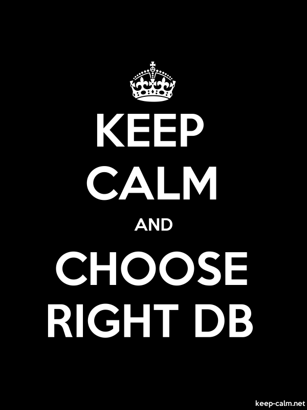 KEEP CALM AND CHOOSE RIGHT DB - white/black - Default (600x800)