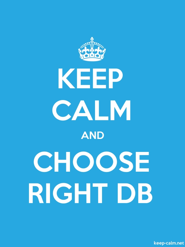 KEEP CALM AND CHOOSE RIGHT DB - white/blue - Default (600x800)