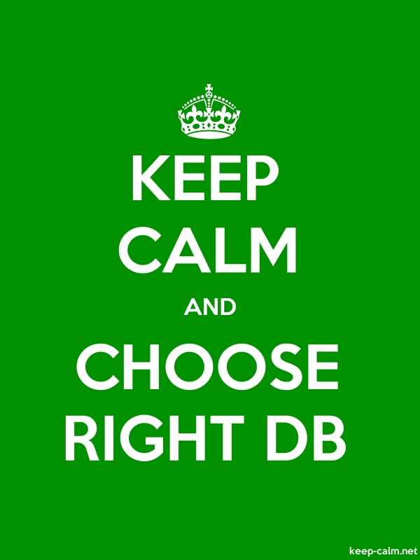 KEEP CALM AND CHOOSE RIGHT DB - white/green - Default (600x800)