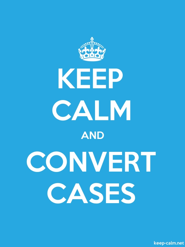 KEEP CALM AND CONVERT CASES - white/blue - Default (600x800)
