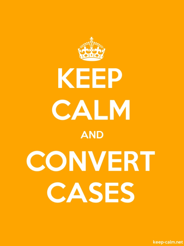 KEEP CALM AND CONVERT CASES - white/orange - Default (600x800)