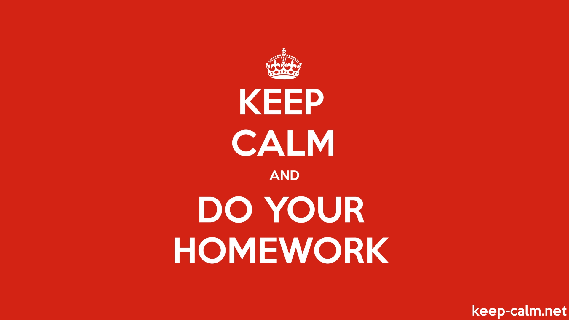 essay on why you should do your homework