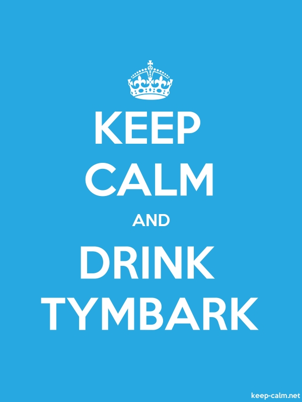 KEEP CALM AND DRINK TYMBARK - white/blue - Default (600x800)