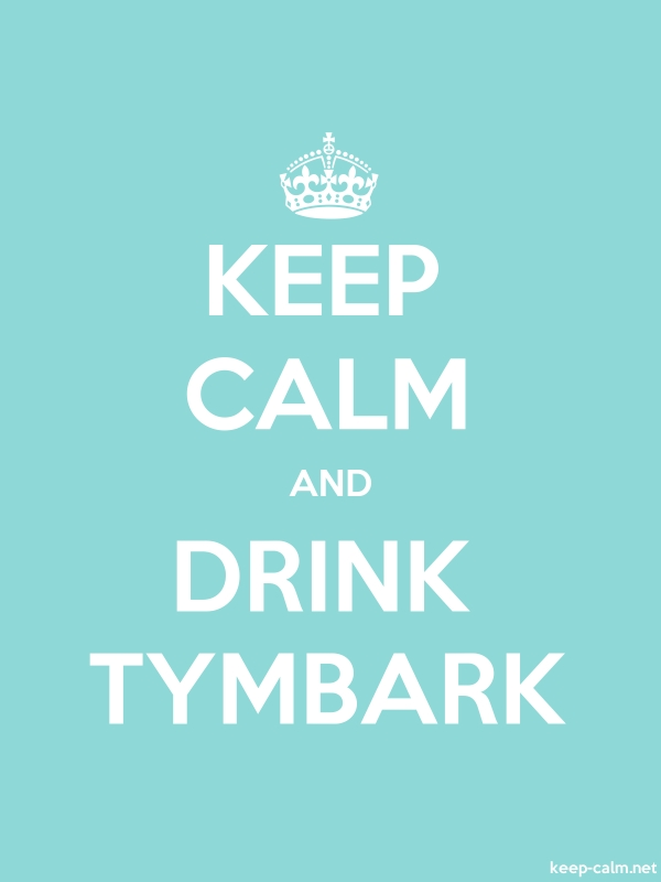 KEEP CALM AND DRINK TYMBARK - white/lightblue - Default (600x800)