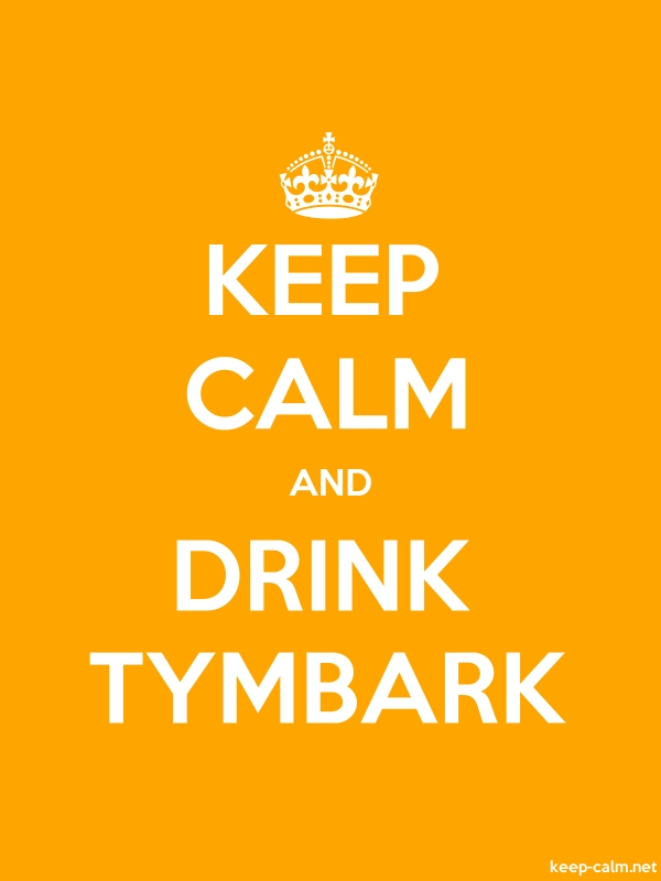 KEEP CALM AND DRINK TYMBARK - white/orange - Default (600x800)