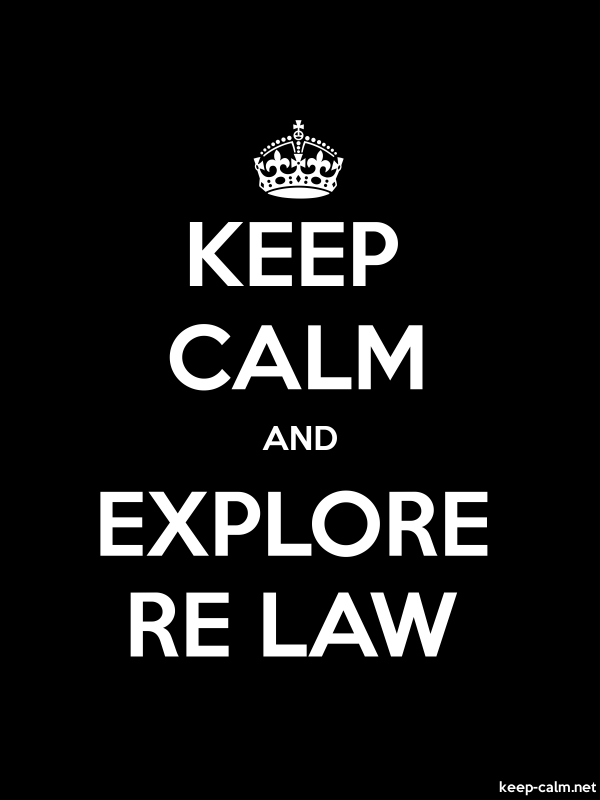 KEEP CALM AND EXPLORE RE LAW - white/black - Default (600x800)