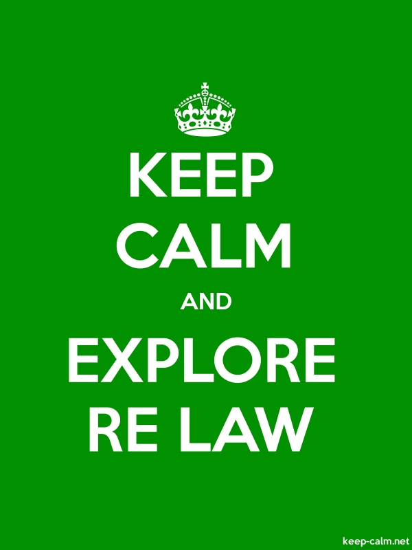 KEEP CALM AND EXPLORE RE LAW - white/green - Default (600x800)