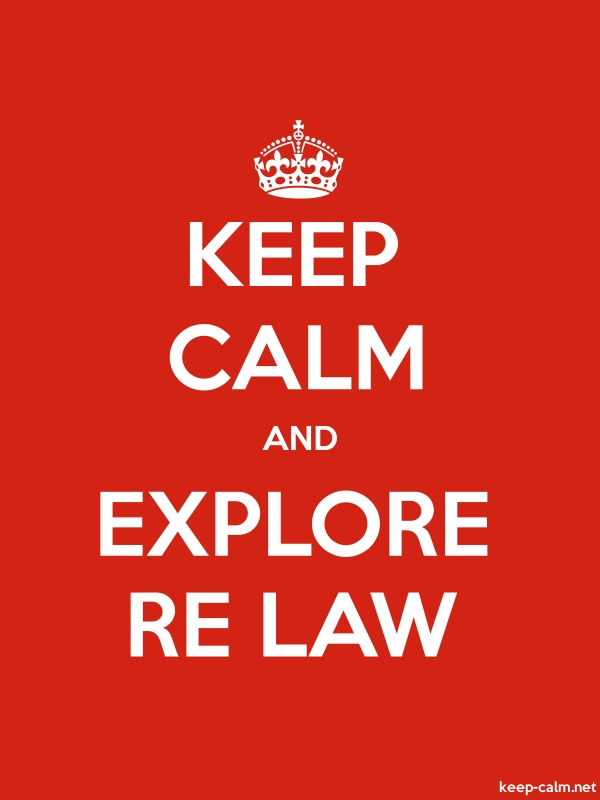 KEEP CALM AND EXPLORE RE LAW - white/red - Default (600x800)