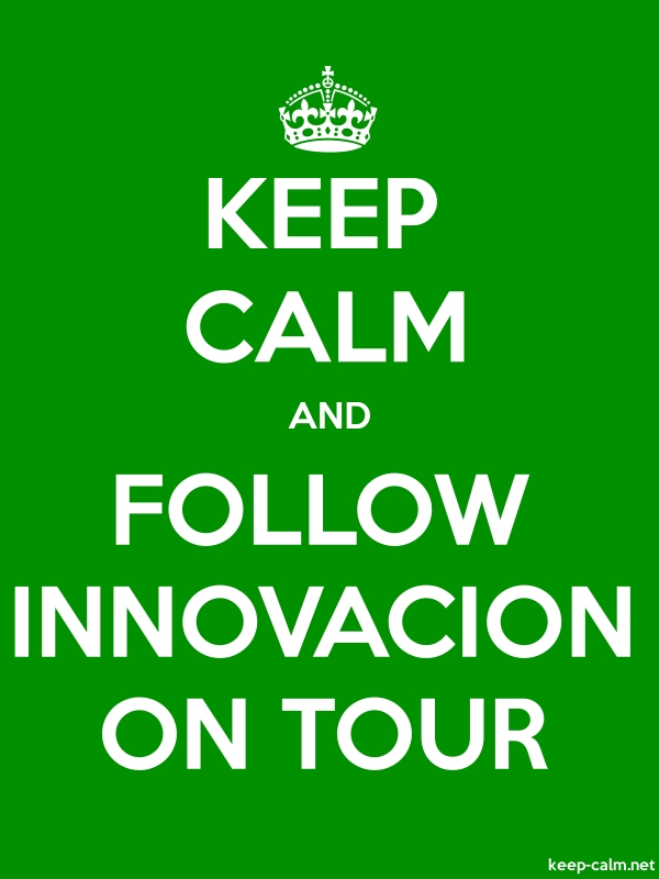 KEEP CALM AND FOLLOW INNOVACION ON TOUR - white/green - Default (600x800)