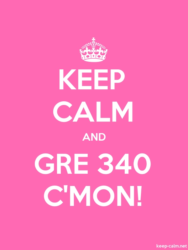 KEEP CALM AND GRE 340 C'MON! - white/pink - Default (600x800)