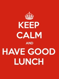 Have a good lunch