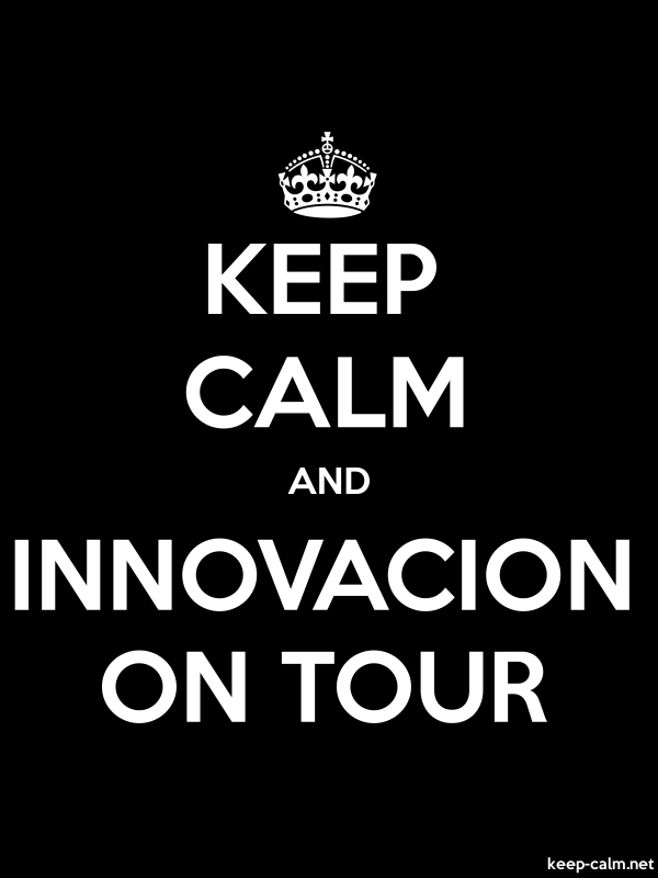 KEEP CALM AND INNOVACION ON TOUR - white/black - Default (600x800)