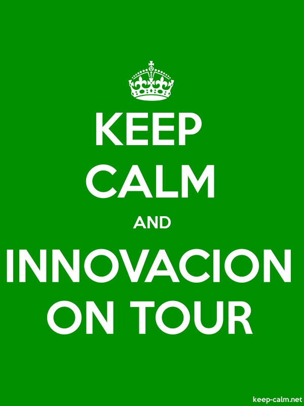KEEP CALM AND INNOVACION ON TOUR - white/green - Default (600x800)