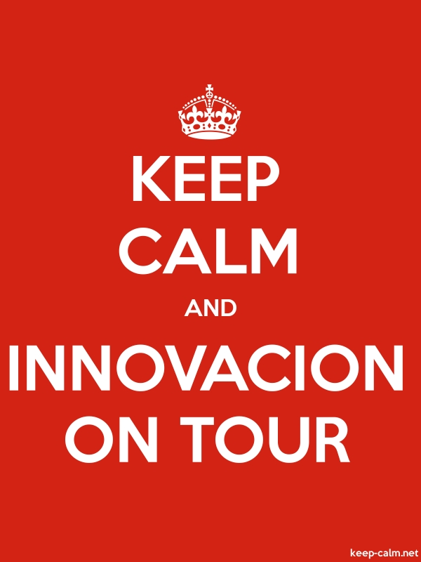 KEEP CALM AND INNOVACION ON TOUR - white/red - Default (600x800)