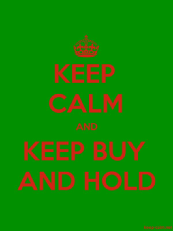 KEEP CALM AND KEEP BUY AND HOLD - red/green - Default (600x800)
