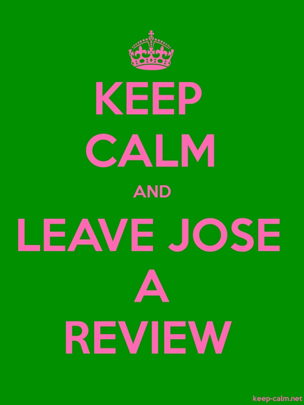 KEEP CALM AND LEAVE JOSE A REVIEW - pink/green - Default (600x800)