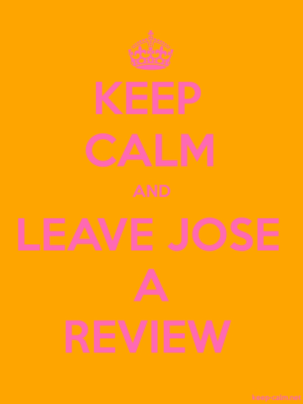 KEEP CALM AND LEAVE JOSE A REVIEW - pink/orange - Default (600x800)
