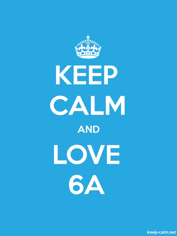 KEEP CALM AND LOVE 6A - white/blue - Default (600x800)