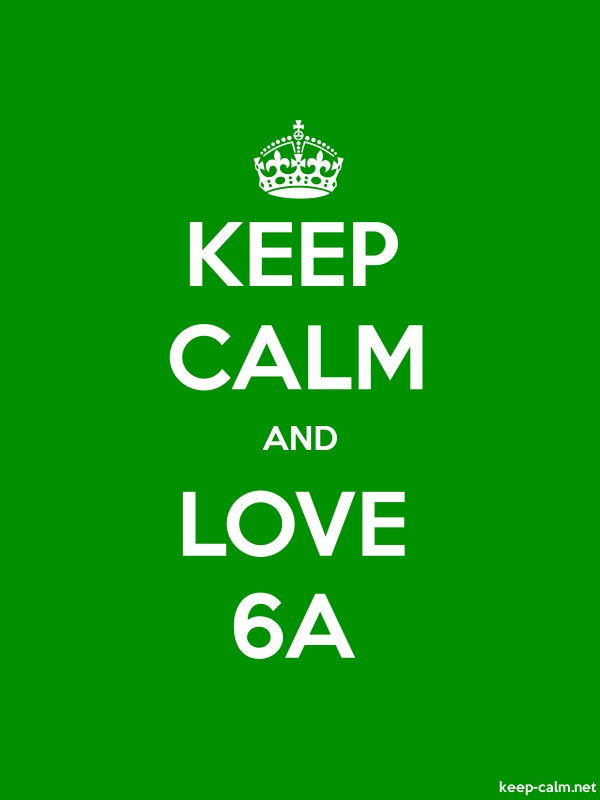 KEEP CALM AND LOVE 6A - white/green - Default (600x800)