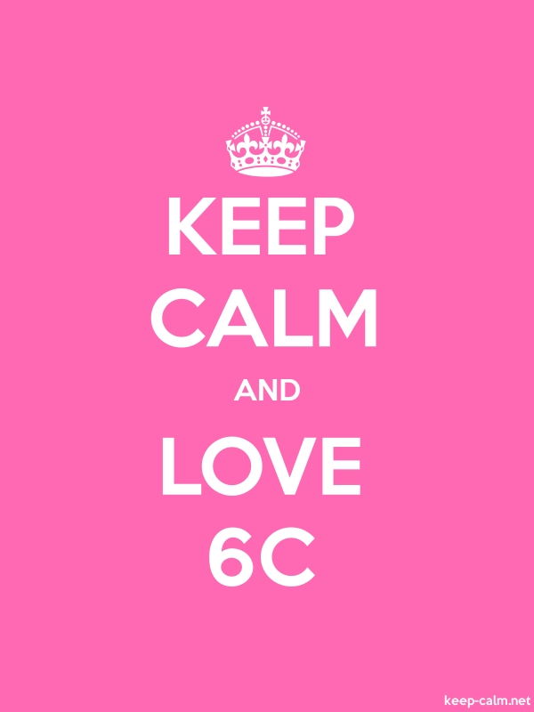 KEEP CALM AND LOVE 6C - white/pink - Default (600x800)