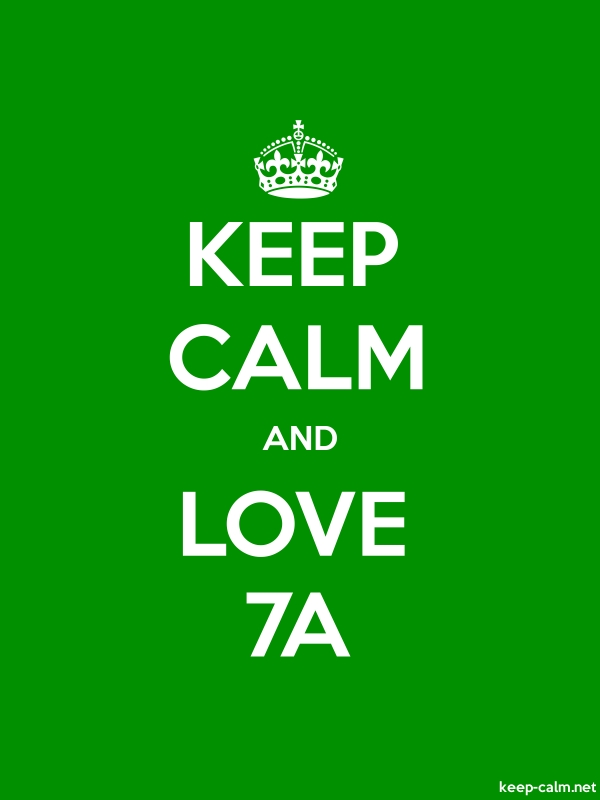 KEEP CALM AND LOVE 7A - white/green - Default (600x800)