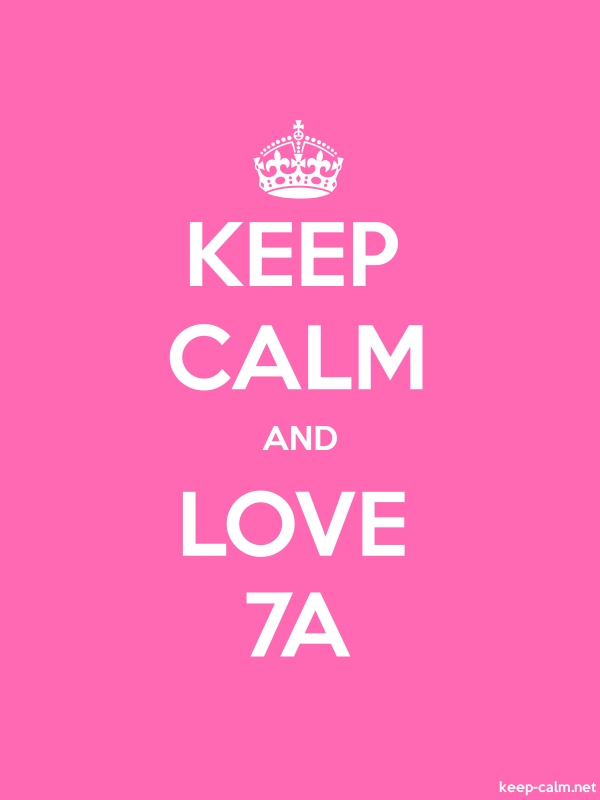 KEEP CALM AND LOVE 7A - white/pink - Default (600x800)