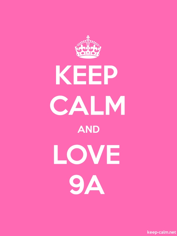 KEEP CALM AND LOVE 9A - white/pink - Default (600x800)