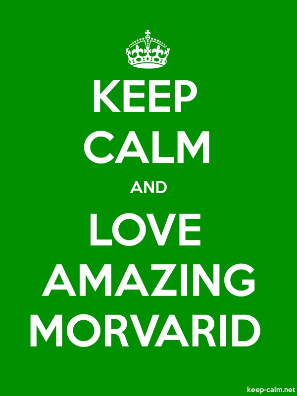 KEEP CALM AND LOVE AMAZING MORVARID - white/green - Default (600x800)