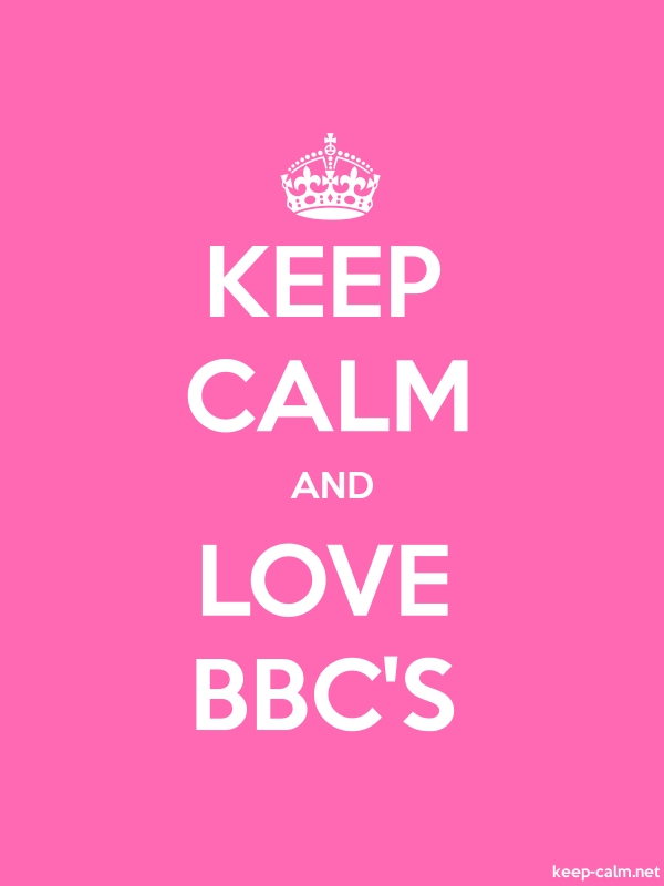 KEEP CALM AND LOVE BBC'S - white/pink - Default (600x800)