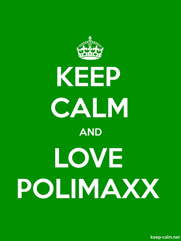 KEEP CALM AND LOVE POLIMAXX - white/green - Default (600x800)