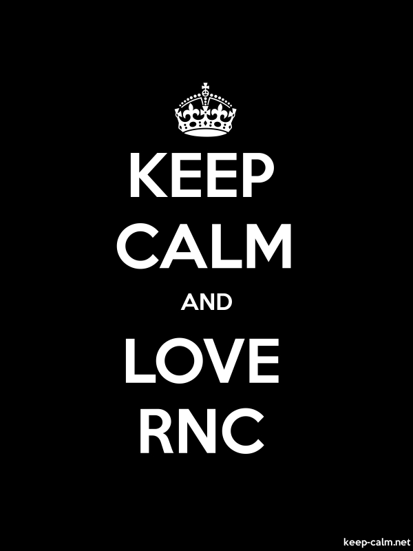 KEEP CALM AND LOVE RNC - white/black - Default (600x800)