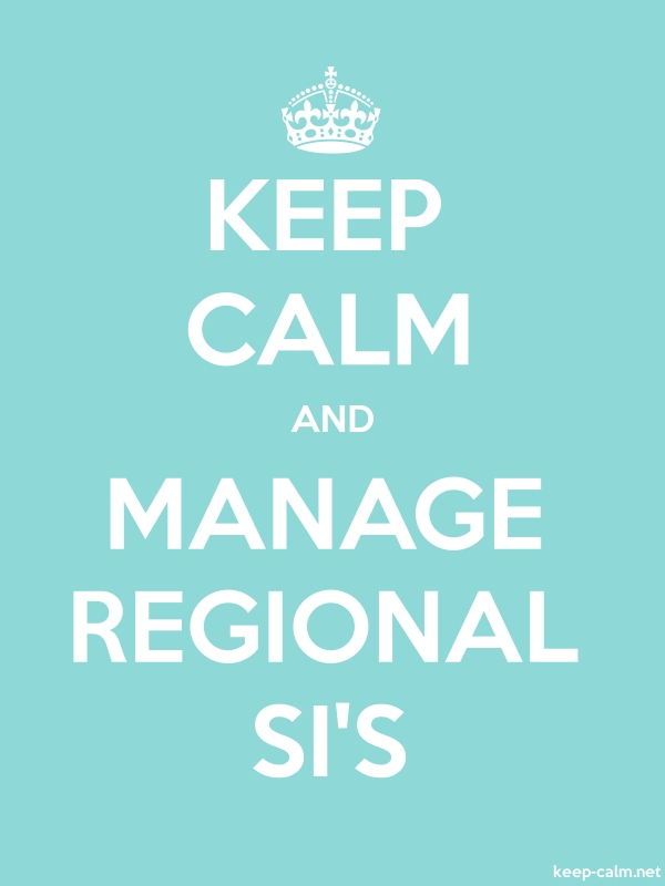 KEEP CALM AND MANAGE REGIONAL SI'S - white/lightblue - Default (600x800)